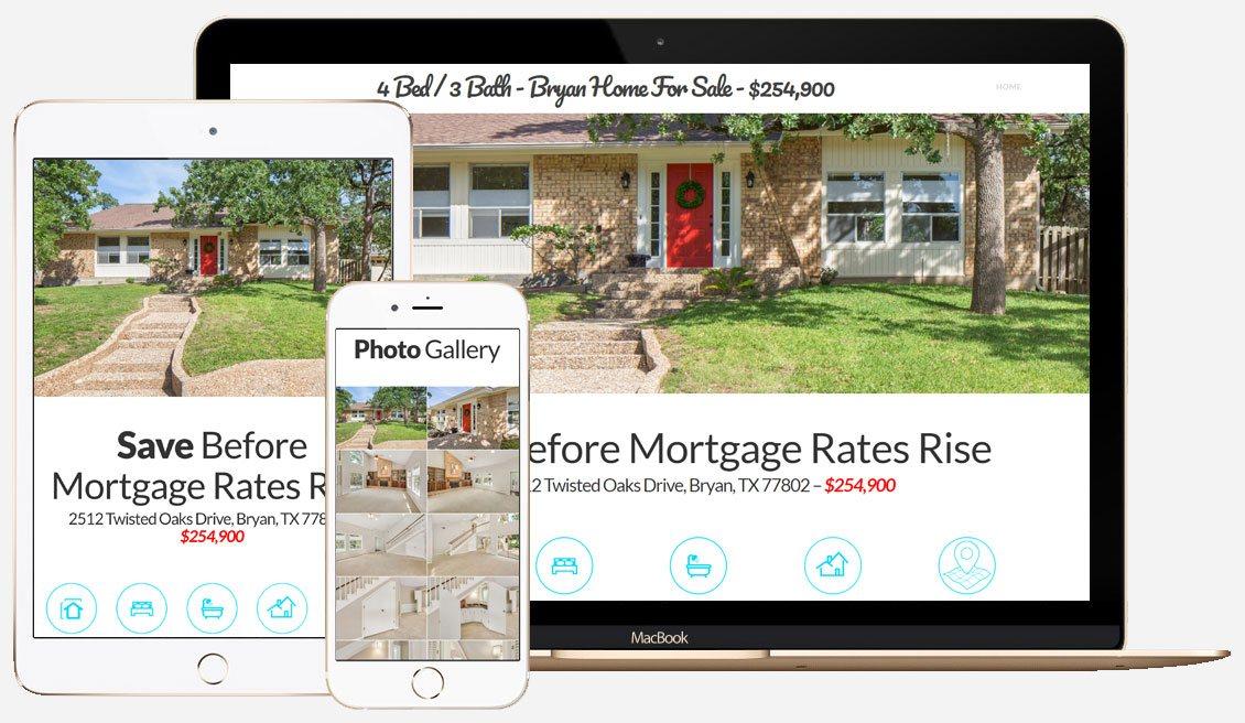 Residential real estate website